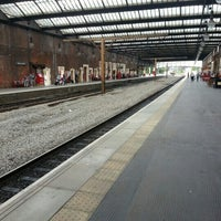 Photo taken at Stoke-on-Trent Railway Station (SOT) by Dean B. on 8/10/2012