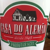 Photo taken at Casa do Alemão by Simone P. on 2/20/2012