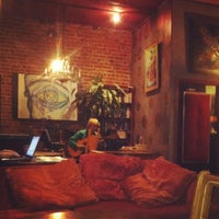 Photo taken at The Library - A Coffee House by Katia M. on 6/3/2012
