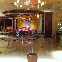 Photo taken at Ferrari Maserati Showroom and Dealership by Spenser H. on 6/5/2012