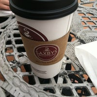 Photo taken at Saxbys Coffee by Ryan M. on 3/13/2012