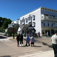 Photo taken at Mackinac Island Tourism Bureau by Debbie S. on 6/5/2012