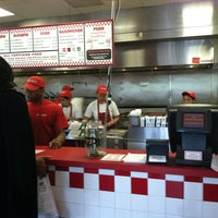 Photo taken at Five Guys by Street Team Promotionz on 5/22/2012