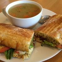 Photo taken at Trafiq Café & Bakery by Donna E. on 2/13/2012