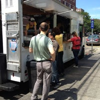 Photo taken at Clover Food Truck by Cari on 8/15/2012