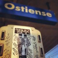 Photo taken at Roma Ostiense Railway Station (IRR) by Giorgio L. on 7/5/2012