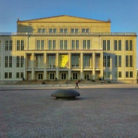 Photo taken at Augustusplatz by Bill B. on 3/21/2012