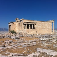 Photo taken at Acropolis of Athens by Илья Б. on 9/3/2012