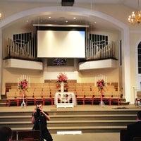 Photo taken at Columbia Baptist Church by Vitaliy G. on 3/3/2012