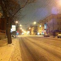 Photo taken at Воронцовская улица by Anastasia K. on 3/14/2012