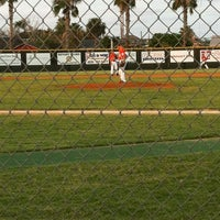 Photo taken at Buccaneer baseball field by Sarah A. on 6/3/2012
