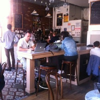 Photo taken at OST Cafe by Marius T. on 3/14/2012