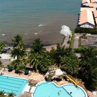 Photo taken at Glory Beach Resort by Fadzil J. on 6/8/2012