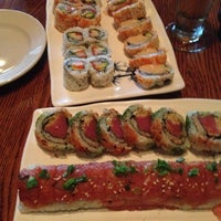 Photo taken at Wasabi Japanese Steakhouse & Sushi Bar by Beth M. on 7/4/2012