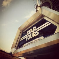 Photo taken at Star Tours - The Adventures Continue by Kieran H. on 9/10/2012