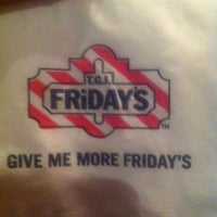 Photo taken at T.G.I. Friday's by Zach Louies C. on 5/6/2012