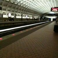 Photo taken at McPherson Square Metro Station by Carol W. on 5/12/2012