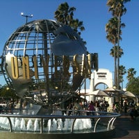 Photo taken at Universal Studios Hollywood Globe and Fountain by Zach P. on 8/9/2012