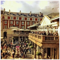 Photo taken at Covent Garden Market by Chris K. on 6/4/2012