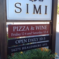 Photo taken at Simi Winery by Vaughan D. on 7/19/2012