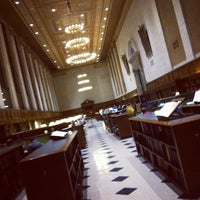 Photo taken at Butler Library by Aaron K. on 4/4/2012