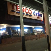Photo taken at Tesco Extra by Waty A. on 6/4/2012