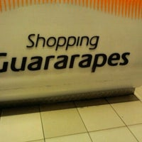Photo taken at Shopping Guararapes by Andréa M. on 5/17/2012