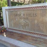 Photo taken at Grgich Hills Estate by Espen J. on 8/12/2012