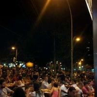 Photo taken at Praça Varnhagen by João N. on 7/27/2012