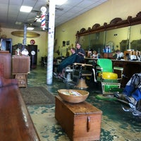 Photo taken at A Yesteryear's Barber Shop by Lindsay L. on 5/26/2012