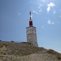 Photo taken at Mont Ventoux by Alexis S. on 7/15/2012