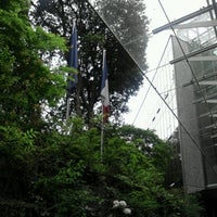 Photo taken at Ambassade de France au Japon by Tsuyoshi T. on 4/26/2012