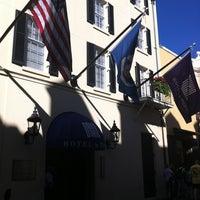 Photo taken at Hotel Le Marais by Michael R. on 4/6/2012