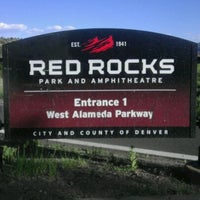 Photo taken at Red Rocks Park & Amphitheatre by Stephanie J. on 6/10/2012