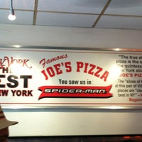 Photo taken at Joe's Pizza by Weerayuth A. on 5/29/2012