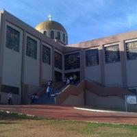 Photo taken at Santuário Basílica do Divino Pai Eterno by Eduardo V. on 7/7/2012