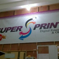 Photo taken at Super Print by Galih S. on 2/14/2012