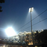 Photo taken at Wankhede Stadium by Nishant d. on 4/16/2012