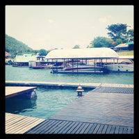 Photo taken at Ruk num resort by Wasu S. on 4/24/2012