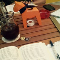 Photo taken at Cafe B by Bomyi J. on 6/10/2012