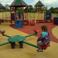 Photo taken at Clemyjontri Park by Kaori on 5/10/2012