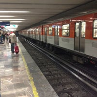 Photo taken at Metro Zócalo by Wilber on 4/22/2012