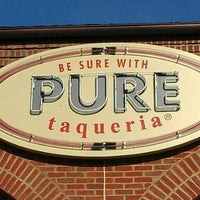 Photo taken at Pure Taqueria by The Bite Life w. on 5/17/2012