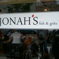 Photo taken at Jonah's Fish & Grits by Tia F. on 3/24/2012
