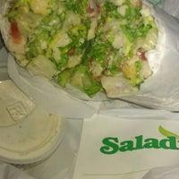Photo taken at Saladish by Inaj D. on 3/14/2012