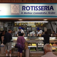 Photo taken at Rotisseria Sírio Libanesa by Marcelo A. on 5/4/2012