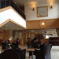 Photo taken at Noboribetsu Grand Hotel by Yoshitaka S. on 2/17/2012