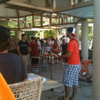 Photo taken at Pavilion Pool Bar by Justin L. on 7/11/2012