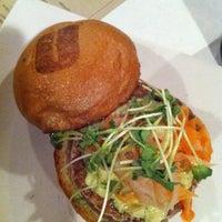 Photo taken at Umami Burger by Bernie C. on 2/28/2012