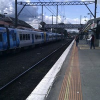 Photo taken at Ringwood Station by Andrew M. on 7/21/2012